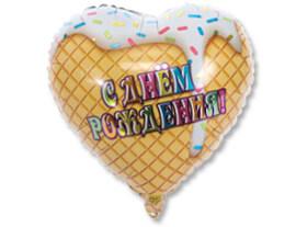 """К 18"""" РУС ДР Мороженое белое"""