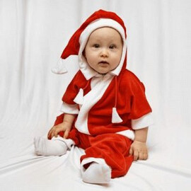 """Маскарадный комбинезон для самых маленьких """" Дед Мороз"""" рост 68-92   1225238"""