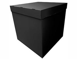 Коробка д/надутых шар 70х70х70см черная