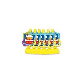 Язык-гудок с карт Торт Birthday 6шт/G