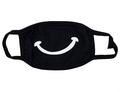 Маска тканевая черная 2-слойная Улыбка/G