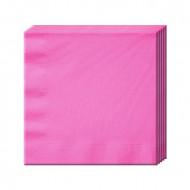 Салфетка Bright Pink 33см 16шт/А