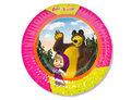 Тарелка бум Маша и Медведь 17см 6шт/G