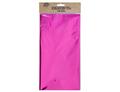 Скатерть фольг ярко-розовая 130х180см/G