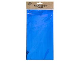 Скатерть фольг синяя 130х180см/G