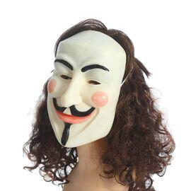 """Карнавальная маска латекс """"Джентльмен с усиками"""""""