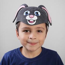 """Карнавальная детская шляпка """"Зайка"""""""