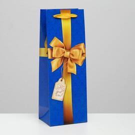 Пакет под бутылку «С бантом» 2936760