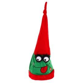 Карнавальная шляпа механическая глазки с ресничками, красная 333855