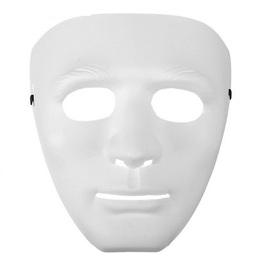 Карнавальная маска Лицо, белая