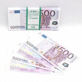Деньги для выкупа, 500 евро / 97 купюр / (Россия)