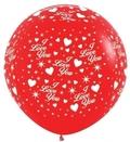 П 36 Любовь Красный пастель 015