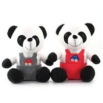 Мягкая игрушка Панда в комбинезоне, антистресс, 30 см
