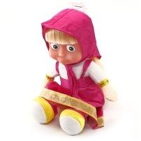 Мягкая игрушка Маша с пластиковым лицом, 40 см, МУЗ