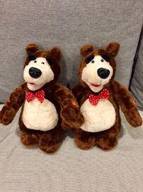 Мягкая игрушка Медведь друг Маши, 34 см