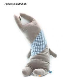 Мягкая Подушка-Игрушка ЗАЙКА, 80 см