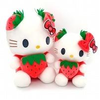 Мягкая игрушка Hello Kitty с ягодкой, 26 см
