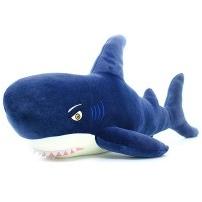 Мягкая игрушка Акула (велюр), 100 см