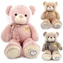 Мягкая игрушка Медведь с короной LOVE, 100 см