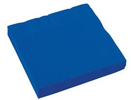 Салфетка Bright Royal Blue 33см 16шт/А